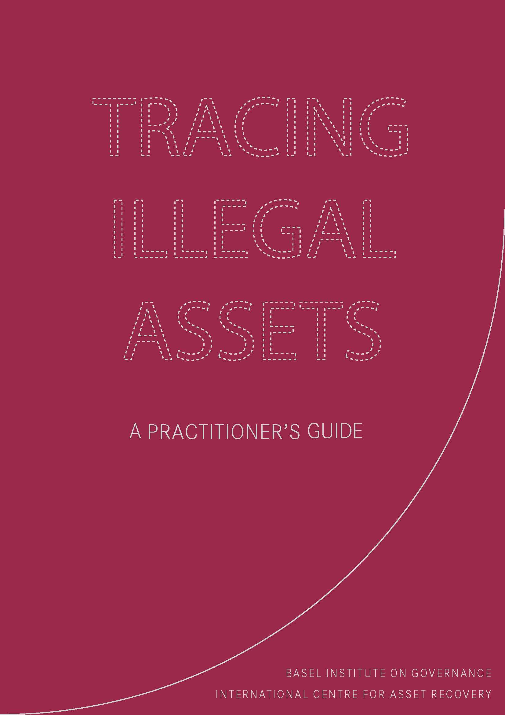 Cover page of Tracing Illegal Assets