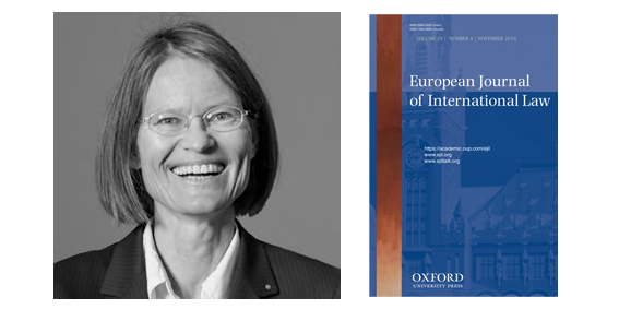Anne Peters and the European Journal of International Law