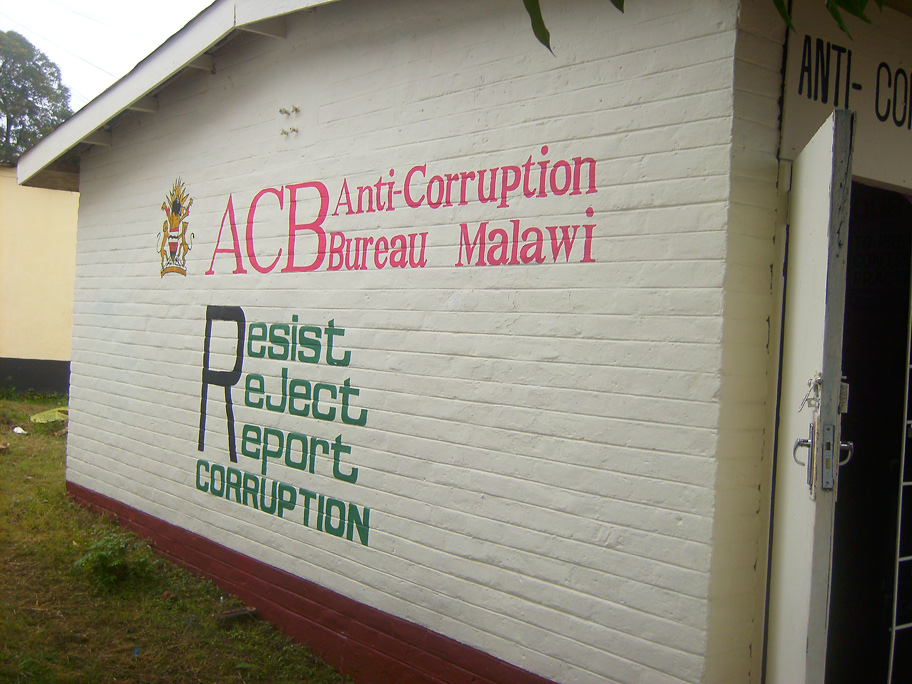 Anti-Corruption Bureau Malawi – Resist Reject Report Corruption