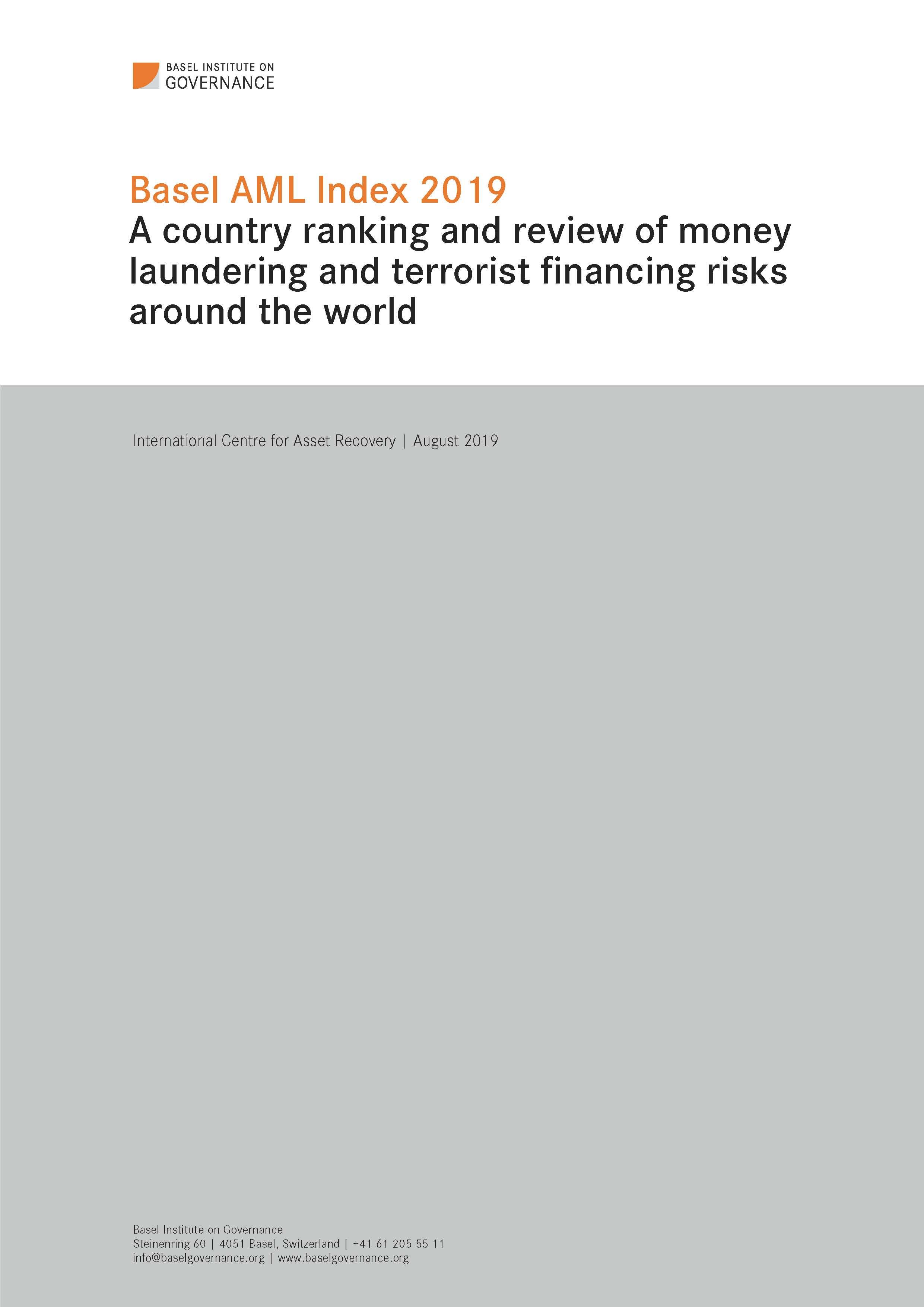 Basel AML Index | Basel Institute on Governance