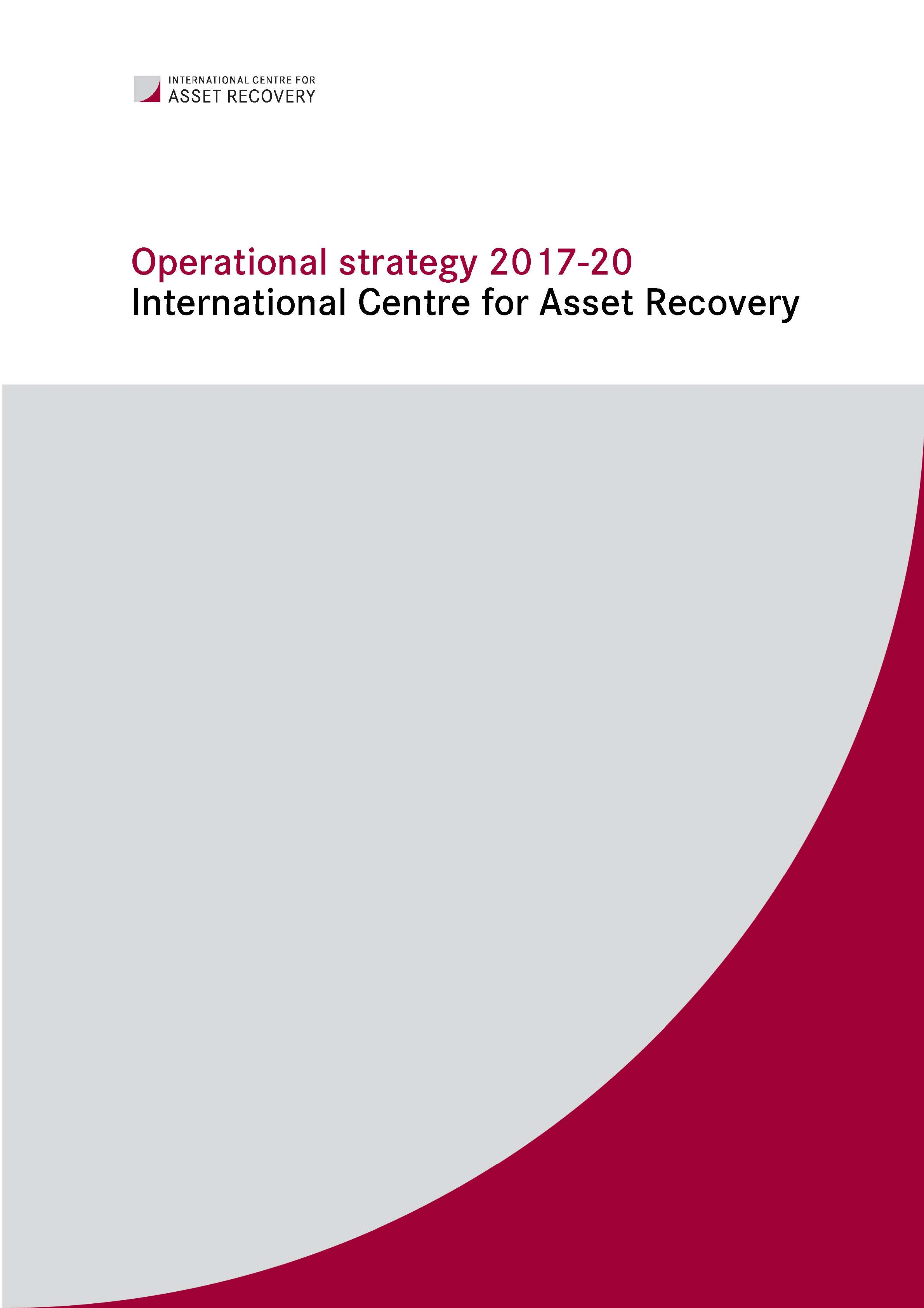 ICAR Operational Strategy 2017-2010