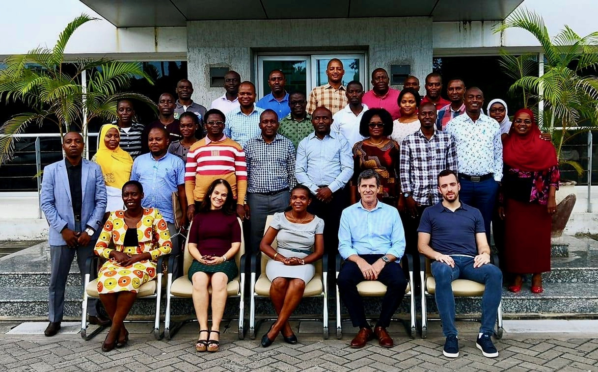 Tanzanian PCCB corruption training - group photo