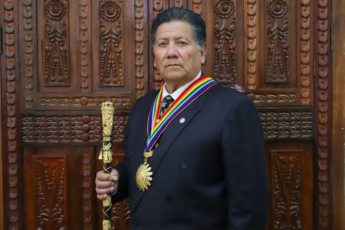 Ricardo Valderrama, Mayor of the Province of Cusco, Peru