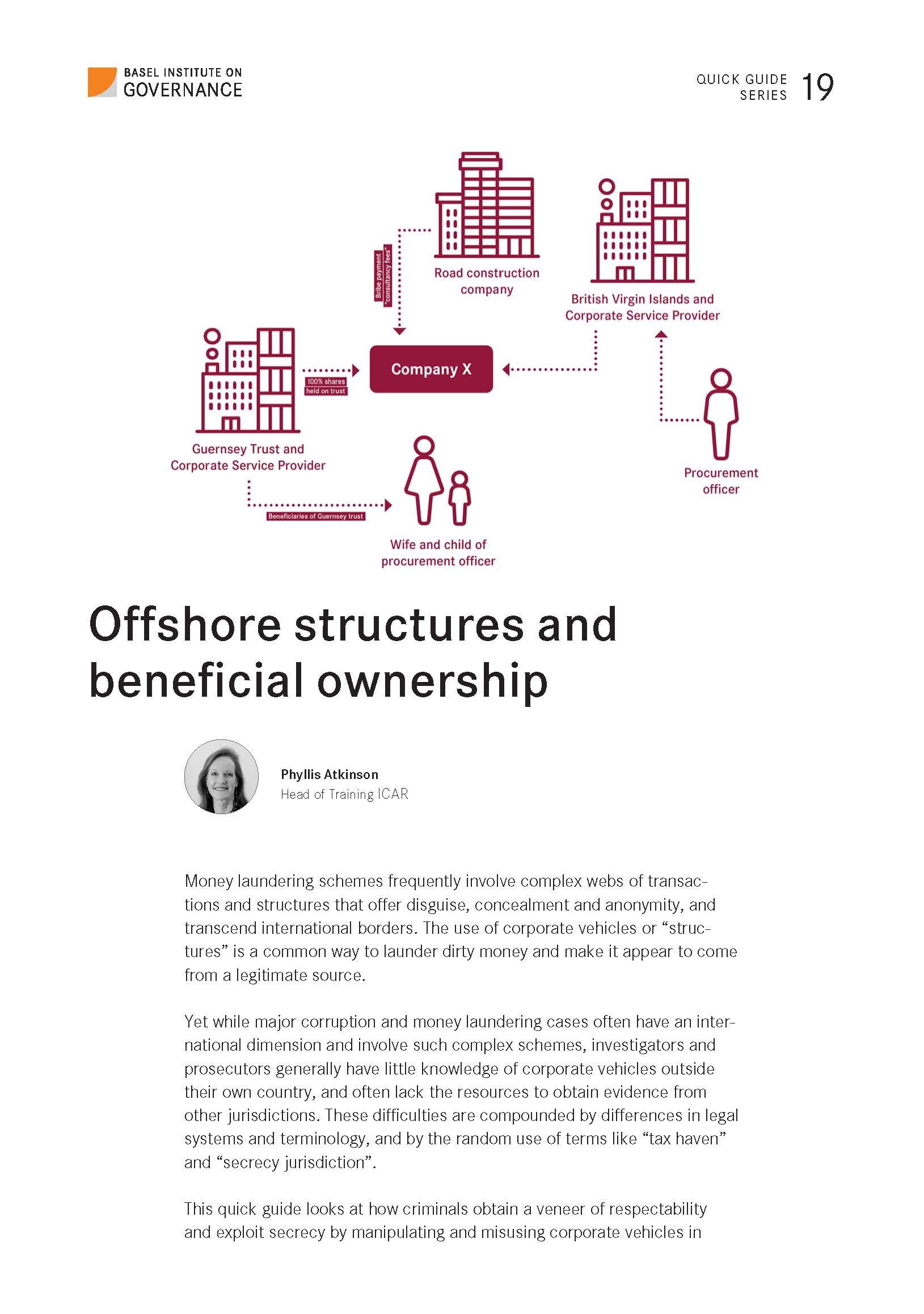 Offshore structures and beneficial ownership quick guide