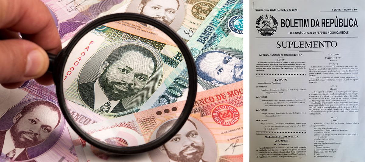 Mozambique new asset recovery bill