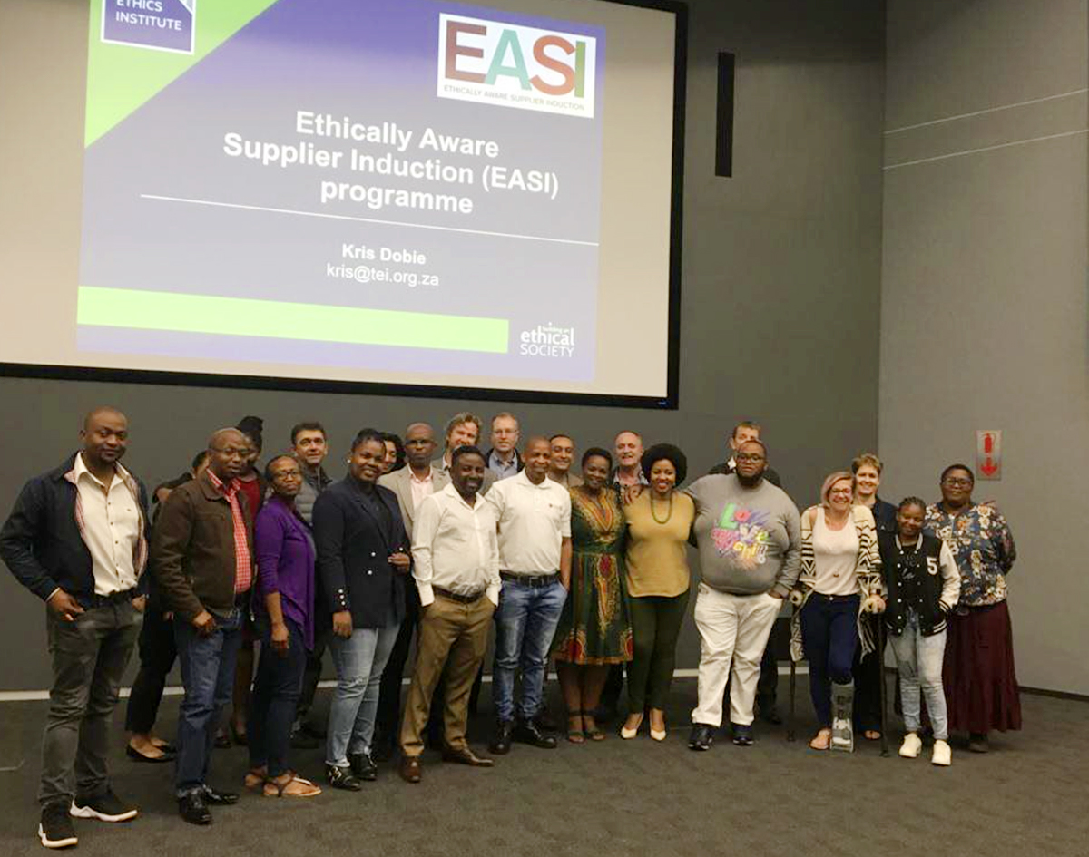 EASI workshop with The Ethics Institute