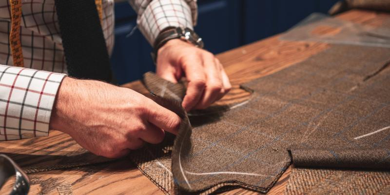 Tailoring. Photo by Salvador Godoy on Unsplash