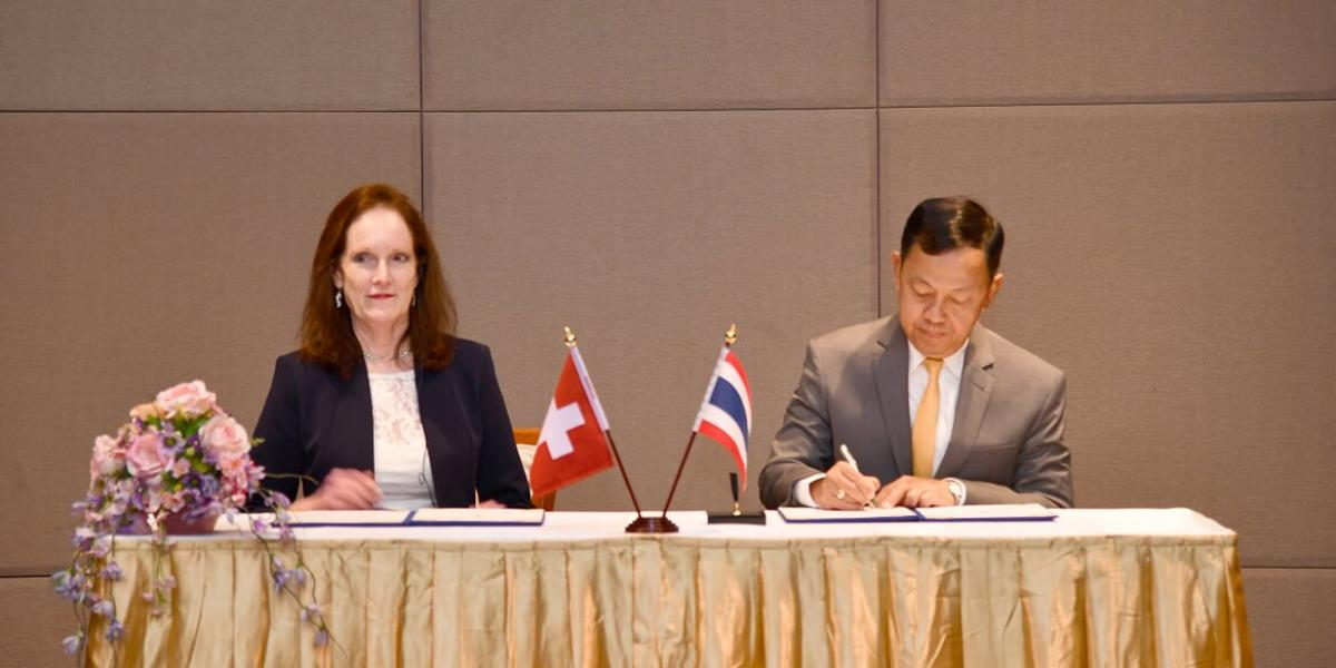 Thai NACC and Basel Institute signing ceremony