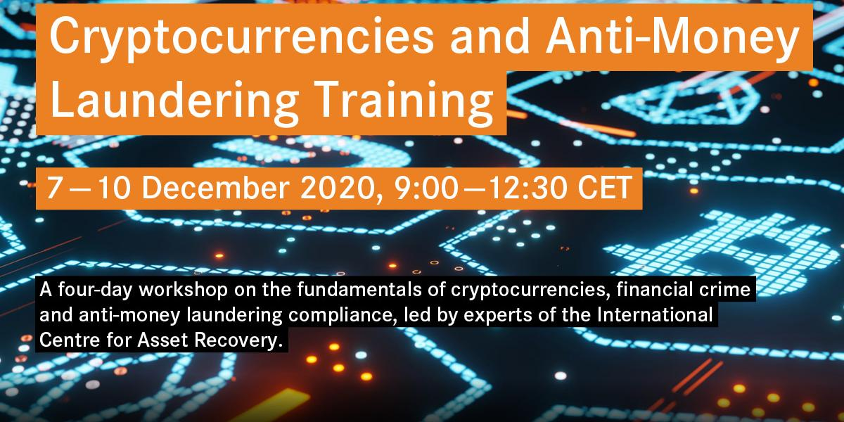 Crypto AML training course